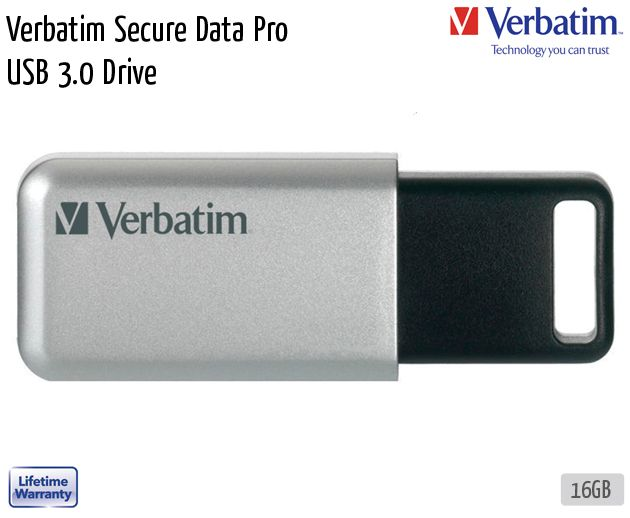 verbatim secure data pro usb