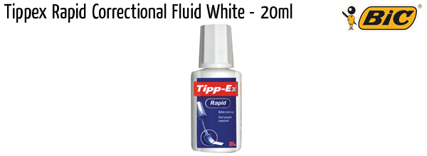 correction bic tippex fluid