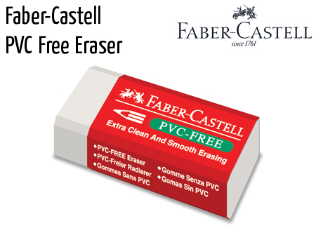 eraser fabercastell pvc free