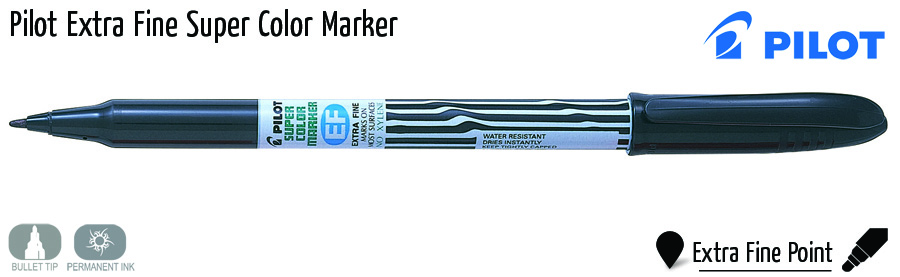 markers pilot extra fine super