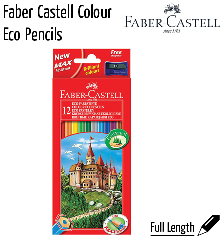 pencils fabercastel colour eco
