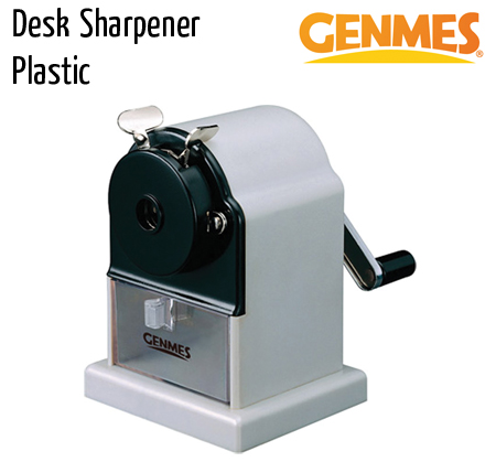 sharpners genemes desk sharpner plastic